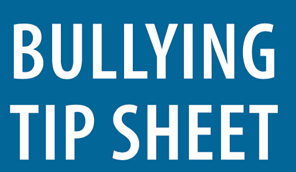 2019 Bullying Tip Sheet-1